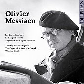 Messiaen: Les Corps Glorieux, etc / Byram-Wigfield