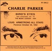 Charlie Parker (Sax): Bird Eyes, Vol. 16