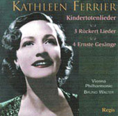 Mahler: Kindertotenlieder, etc;  Brahms / Kathleen Ferrier