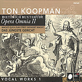 Buxtehude: Opera omnia Vol 2 - Vocal Works Vol 1