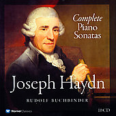 Haydn: Complete Piano Sonatas / Rudolf Buchbinder