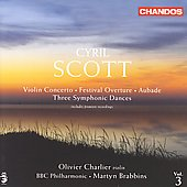Scott: Violin Concerto, etc / Charlier, Brabbins, et al