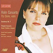 Actor: Concerto for Violin, Symphony no 2, etc / Clarke, Chafetz, Trevor, Slovak Radio SO