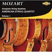 Mozart: Complete String Quartets Vol 1 / American String Quartet