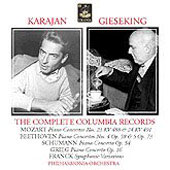 The Complete Columbia Records - Mozart, Beethoven, Schumann, etc / Gieseking, Karajan