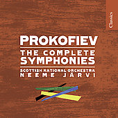 Prokofiev: The Complete Symphonies / Järvi, Scottish National Orchestra