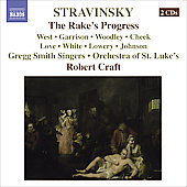 Stravinsky: The Rake's Progress / Craft, West, Garrison, Woodley, Cheek, et al