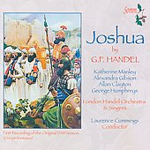 Handel: Joshua / Cummings, London Handel Orchestra