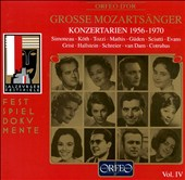 Great Mozart Singers, Vol. 4: Concert Arias 1956-70