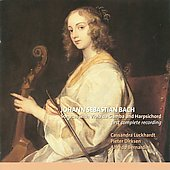 J.S. Bach: Sonatas for Viola da Gamba and Harpsichord, complete / Cassandra Luckhardt, Pieter Dirksen, Alfredo Bernardini