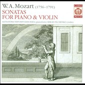 Mozart: Sonatas for Violin & Clavier