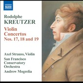 Rodolphe Kreutzer: Violin Concertos