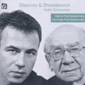 Glazunov & Shostakovich: Violin Concertos
