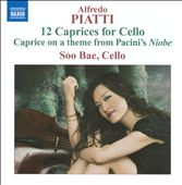 Alfredo Piatti: 12 Caprices For Cello / Soo Bae