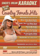 Karaoke: Karaoke: Country Female Hits