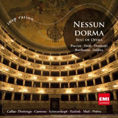 Nessun Dorma: Best of Opera / Puccini, Verdi, Donizetti, Beethoven and Delibes