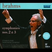 Brahms: Symphonies Nos. 2 & 3 / Skrowaczewski