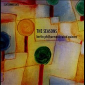 The Seasons - 20th Century Music for Wind Quintet by Barber, Hindemith, Nielsen, Vasks, Henze, Tomasi, Ibert, Milhaud et al. [4 CDs]