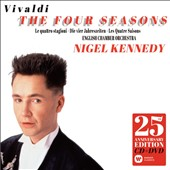 Vivaldi: The Four Seasons / Nigel Kennedy, violin & director; English CO [25th Anniversary Luxury Edition - CD & DVD, includes introductions to each concerto by Nigel Kennedy]