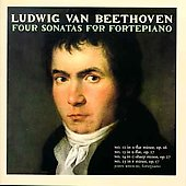 Beethoven - Four Sonatas for Fortepiano / John Khouri