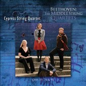 Beethoven: The Middle String Quartets - Nos. 7-9, Op. 59/1-3 ôRazumovskyö; String Quartet, Op. 74 ôHarpö & Op. 95 ôSeriosoö  / Cypress String Quartet