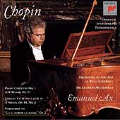 Chopin: Piano Concerto no 1, etc / Ax, Mackerras, OAE