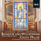 Bonjour and Willkommen: A Franco-German Debut - Songs by Franck, Couperin, Liszt, Schumann, J.S. Bach, Mozart & Mendelssohn / Ashley Coffey, Catherine Goode, Elizabeth Sharonov, soprano; Crista Miller, organ
