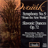 Dvor&#225;k: Symphony no 9, Slavonic Dances / Len&#225;rd, et al