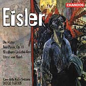 Eisler: Die Mutter, Four Pieces, etc / Fasolis, et al