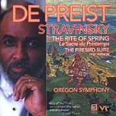 Stravinsky: Rite of Spring, etc / DePriest, Oregon Symphony