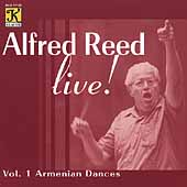 Alfred Reed Live! Vol 1 - Armenian Dances