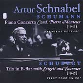 Schumann: Piano Concerto;  Schubert / Schnabel, Monteux