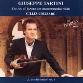 Tartini: The Art of Bowing / Gilles Colliard