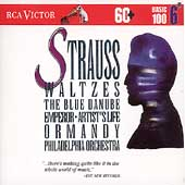 Basic 100 Vol 6 - Strauss: Waltzes / Ormandy, Philadelphia