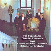 The Copenhagen Chamber Ensemble Plays Roman, Scheibe, et al
