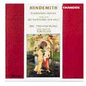 Hindemith: Symphonia Serena, etc / Tortelier, BBC Phil