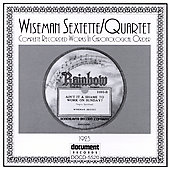 Wiseman Sextette: Complete Recorded Works: 1923
