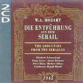 Mozart: Die Entf&uuml;hrung aus dem Serail / Moralt, Schwarzkopf