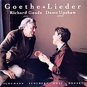 Goethe Lieder / Dawn Upshaw, Richard Goode