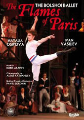 The Flames of Paris / Bolshoi Ballet, Osipova, Vasiliev [DVD]
