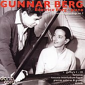 Gunnar Berg - Historical Recordings Vol 2 / Beatrice Berg