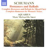 Schumann: Romances and Ballads / De Smet, Aquarius