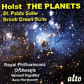 Holst: The Planets, etc / Handley, Wordsworth, et al