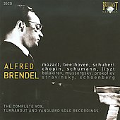 Alfred Brendel - Complete Vox, Turnabout and Vanguard Solo Recordings