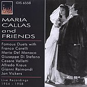 Maria Callas and Friends / Votto, Gavazzeni, Corelli, Monaco, et al