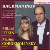 Rachmaninov. Music for Cello and Piano