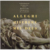 Allegri: Miserere Mei Deus