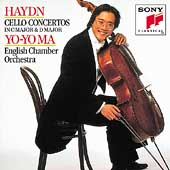 Haydn: Cello Concertos nos 1 & 2 / Ma, Garcia, English CO