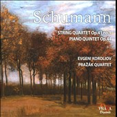 Schumann: String Quartet Op. 41 No. 1; Piano Quintet Op. 44