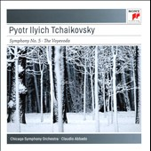 Tchaikovsky: Symphony No. 5, Op. 64; The Voyevoda, Op. 78 / Chicago SO, Abbado